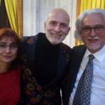 Con Alejandro Palomas y Antonio García Teijeiro, Palacio Real, 2018