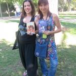 Con Ana Campoy, 2014