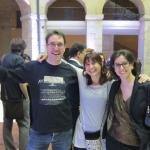 Con Jorge Gómez Soto y Elena Moreno