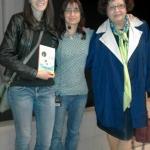 Con Consuelo Varela y Lucía Cobo, 2016