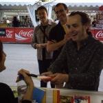 Con Pablo Albo y Roberto Aliaga