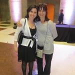 Con Paloma Muiña