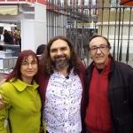 Con Pep Bruno y Fernando Olmeda, Madrid, 2017