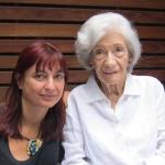 con Ana María Matute, 2011