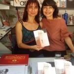 Con Patricia Metola, Feria libro 2017