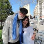Con Gonzalo Moure